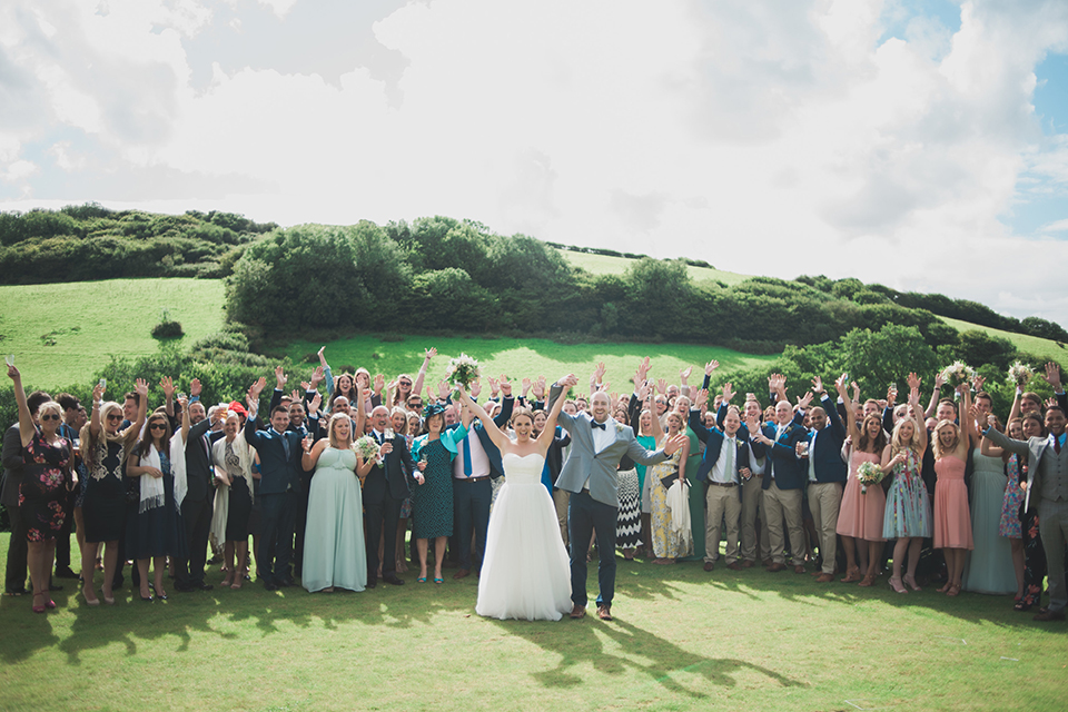 Real wedding at Pengenna Manor in Cornwall wedding venue Hanna & Tom 06.jpg