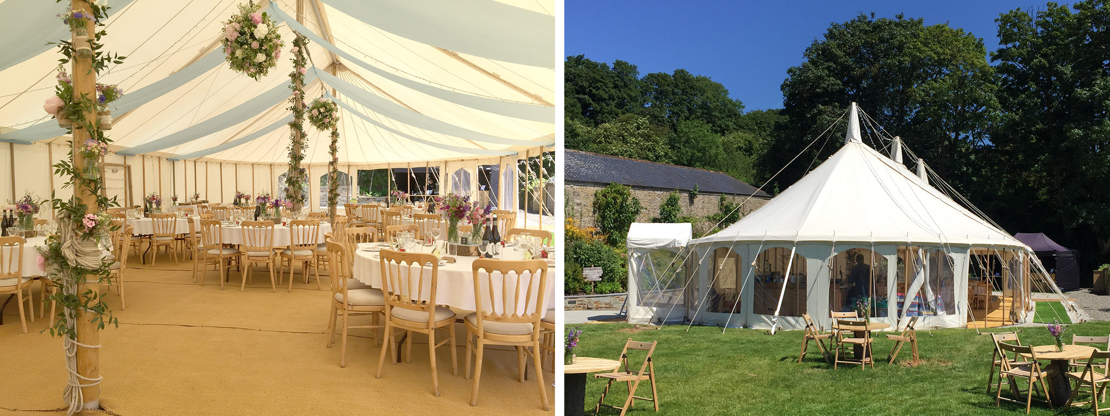 An Absolute Canvas traditional marquee on the lawn at Pengenna Manor.jpg