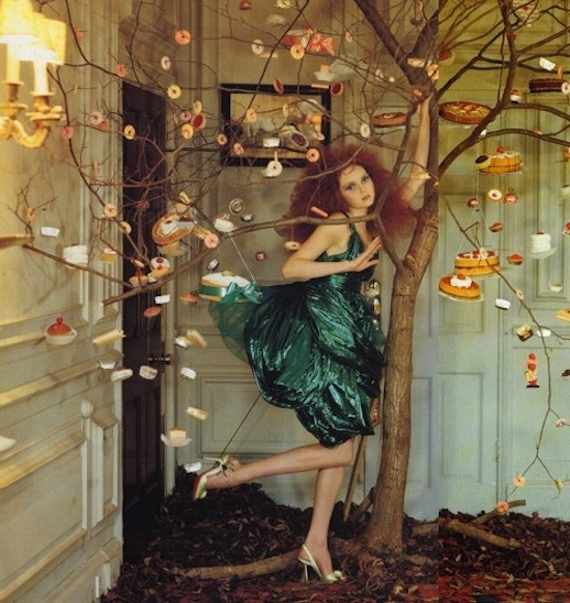"""amomentoflovewithinme :     """"Imaginary Fantastic Bizarre"""", Lily Cole by Tim Walker for Vogue Italia June 2005"""