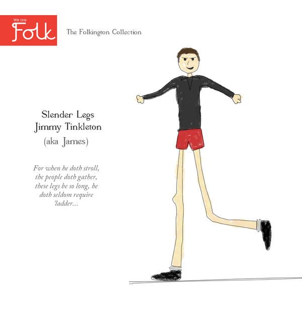 In the first of it's kind our Tom illustrates the folk of Folk. First up who else but the lovely James…