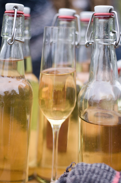 Yesterday was a 'fruitful' day for cider making at Folk