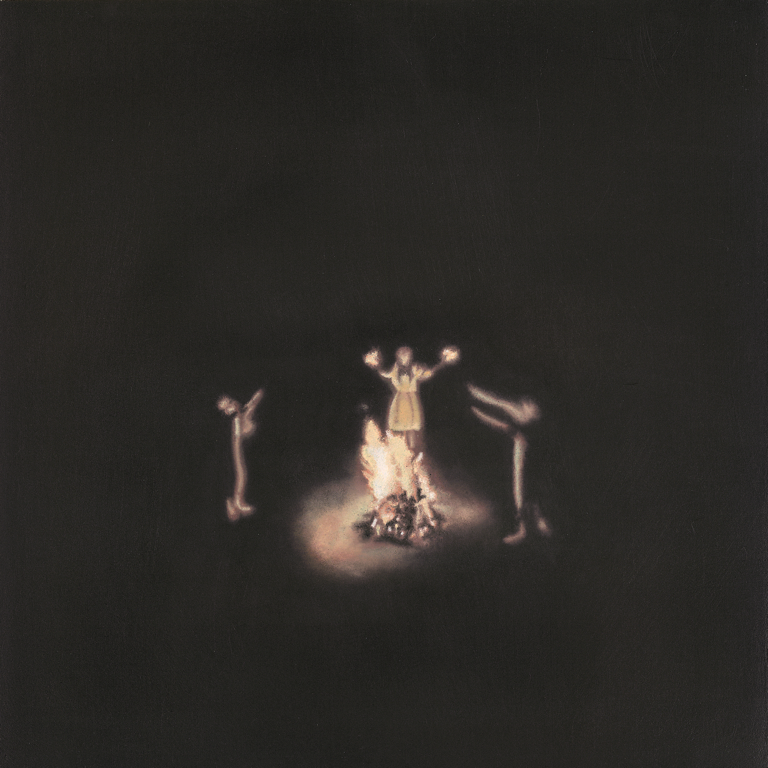 There Is More Potential For Magic Than We Are Being Led to Believe , 2015  Oil on gesso panel, 22x22cm