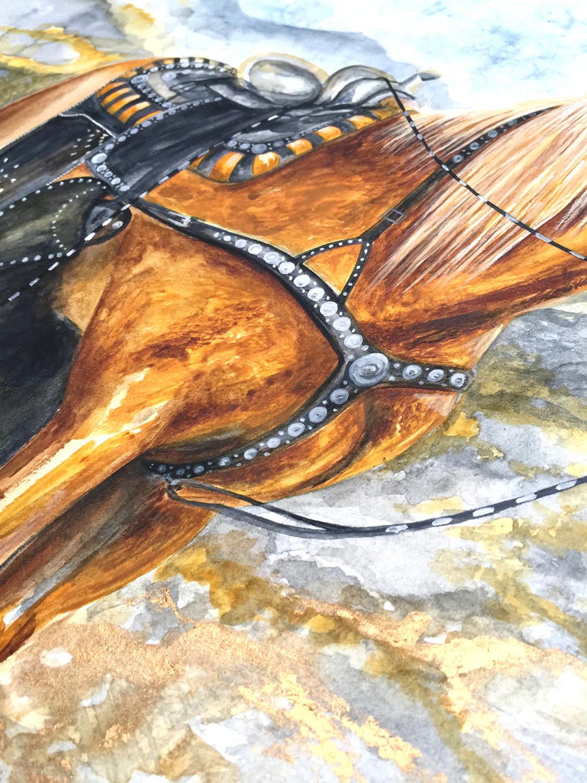 Watercolour Horse   Horse Art   Equine Art