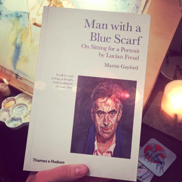 Man With a Blue Scarf | Lucian Freud | Book Review