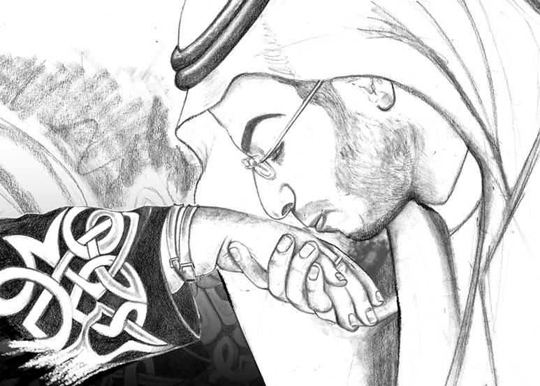 Painting a Prince | Khaled bin Salman | Portrait Artist