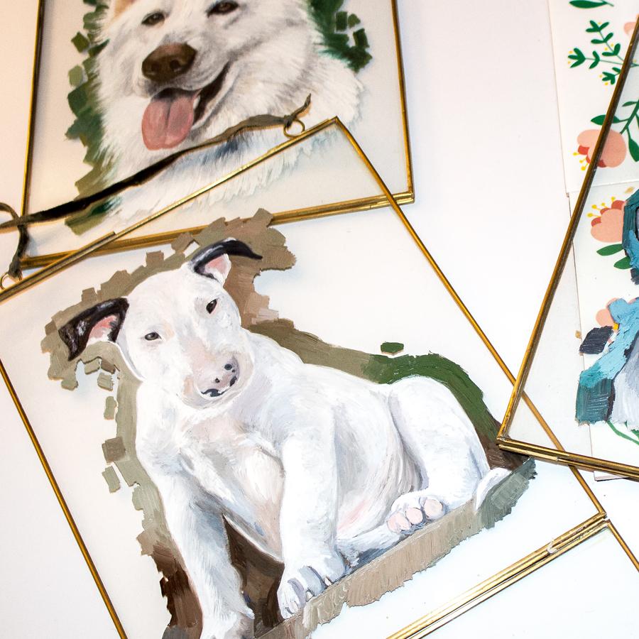 Art Commissions   Dog Art   Pet Portraits   Custom Pet Portrait