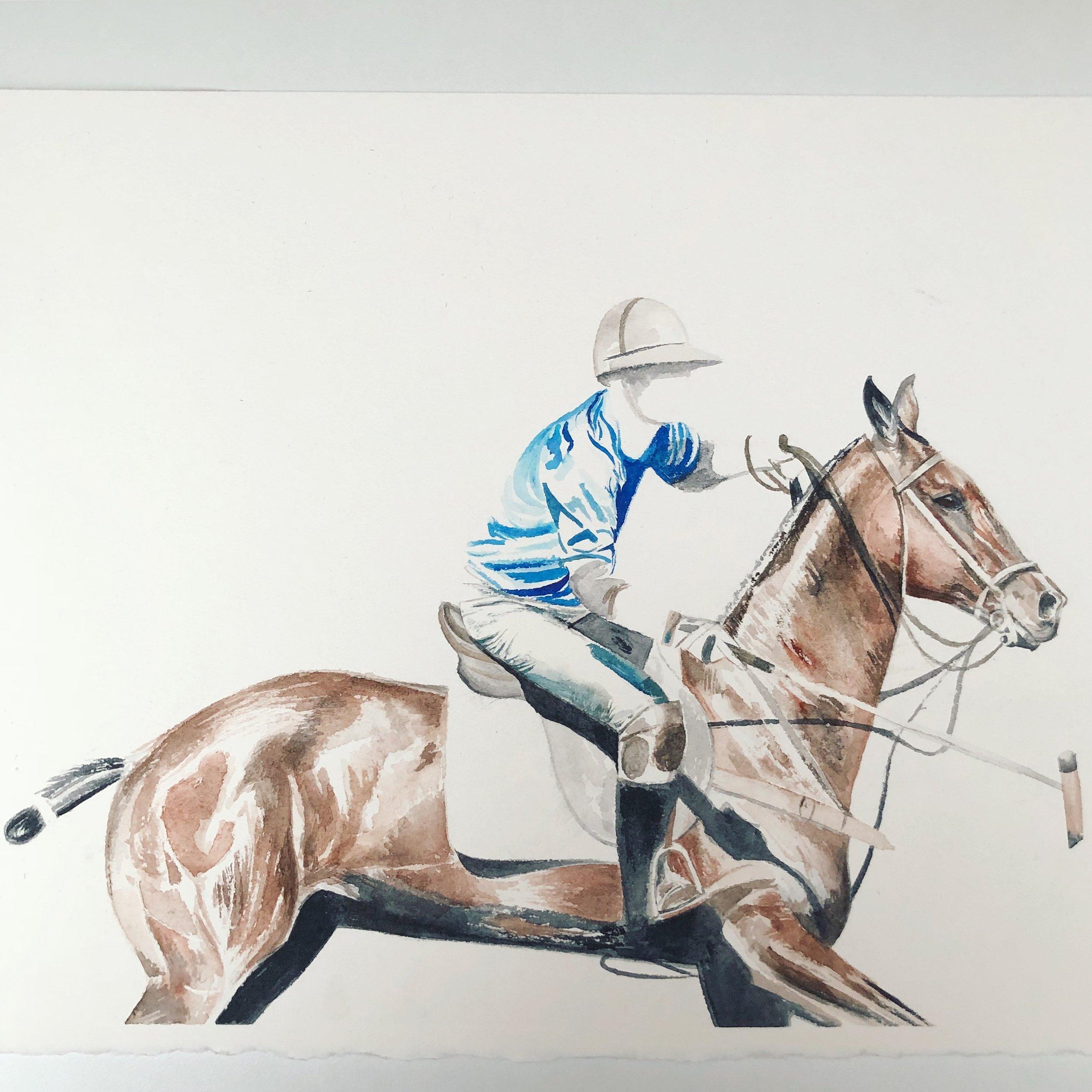 Polo | Horse Art | Horse Wall Art
