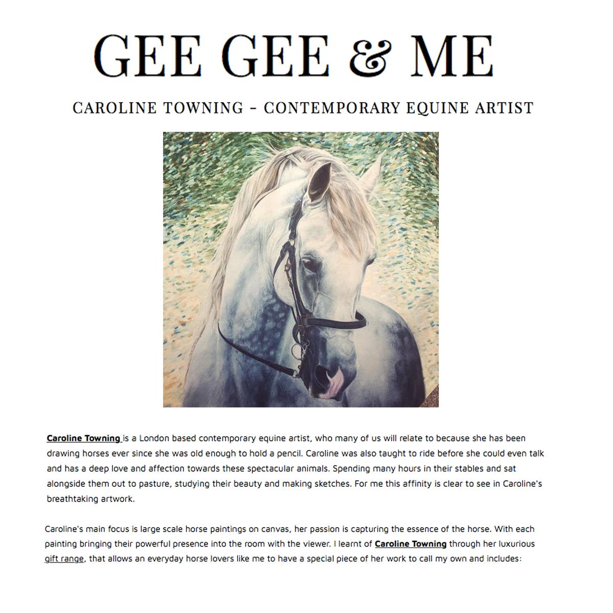 GEE GEE & ME Blog