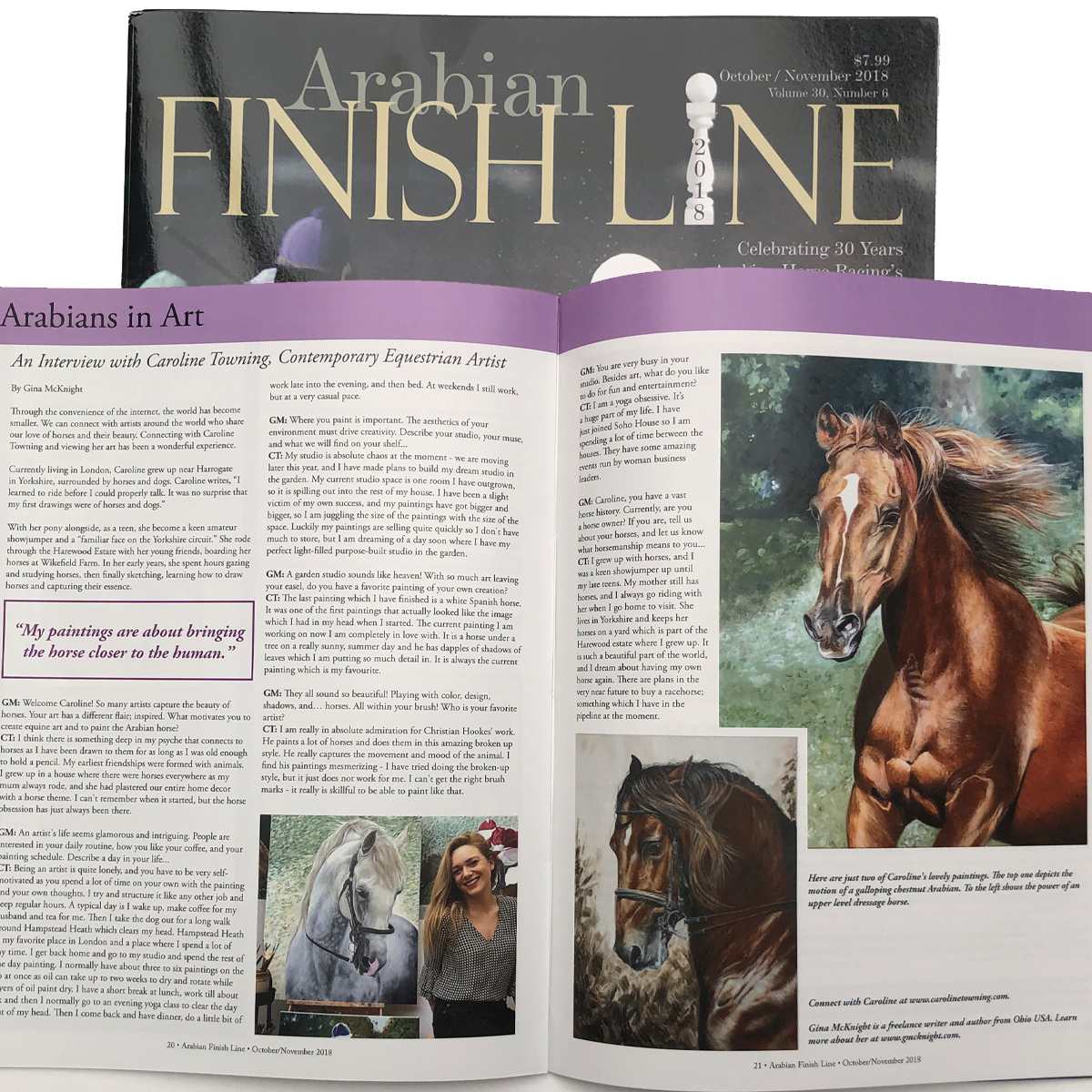 Arabian Finish Line Magazine