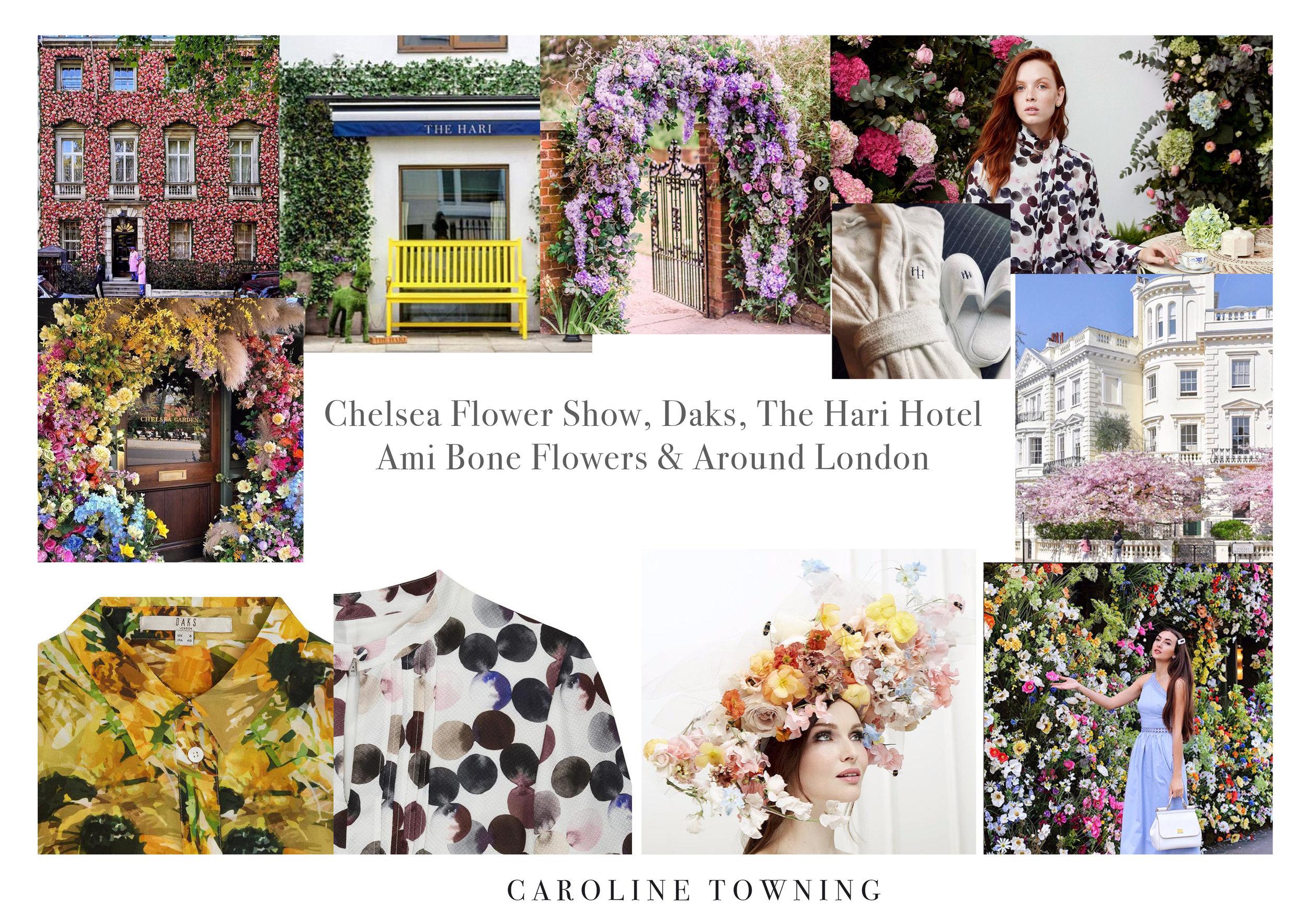 Daks | Chelsea Flower Show | Hari Hotel | Ami Bone