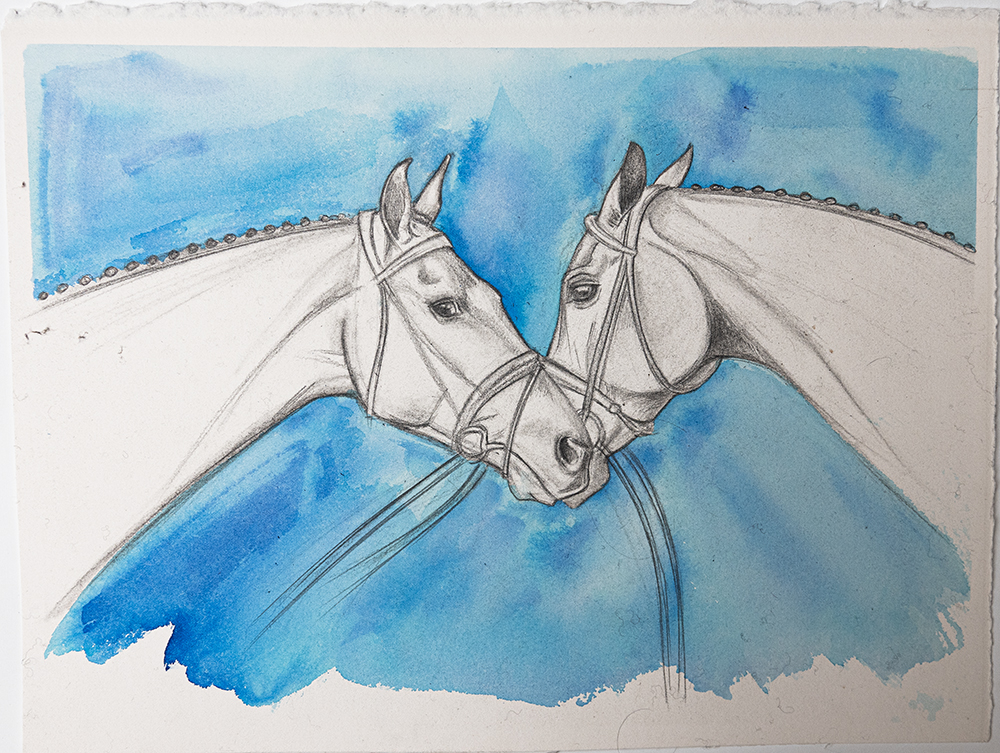 Horse Art | Watercolour Horse