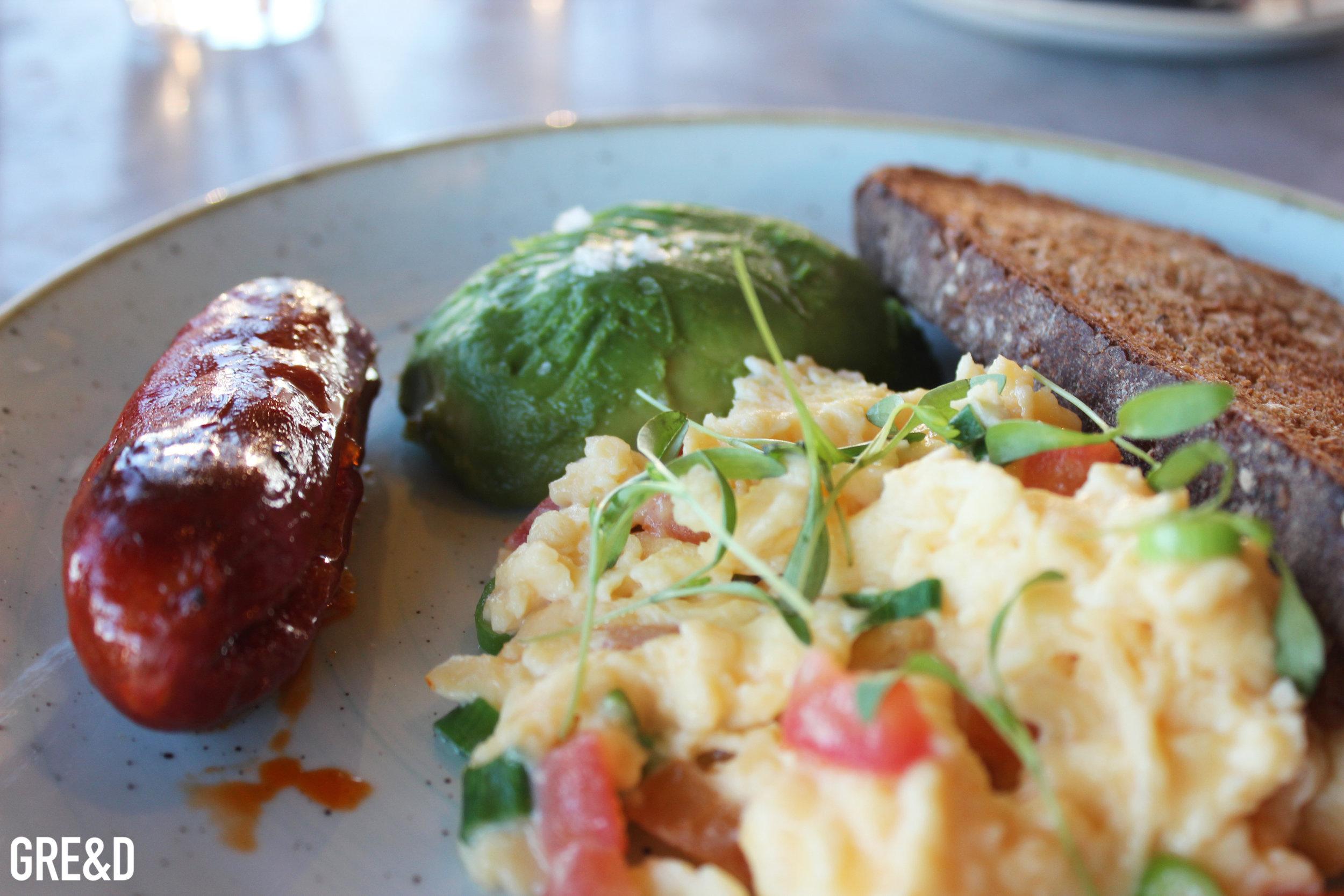 Breakfast at Duck & Waffle