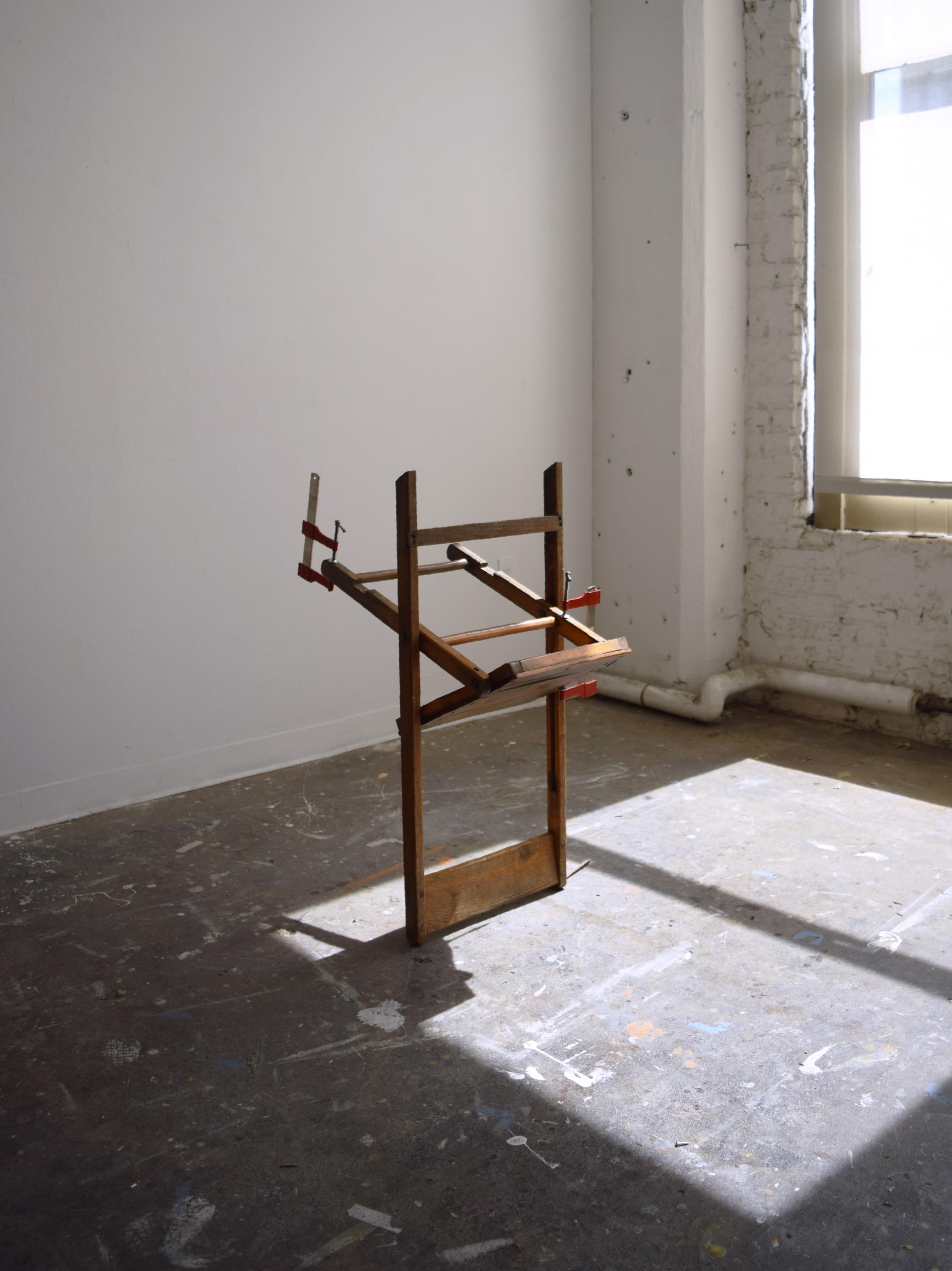 Folding chair, bar clamps  2016