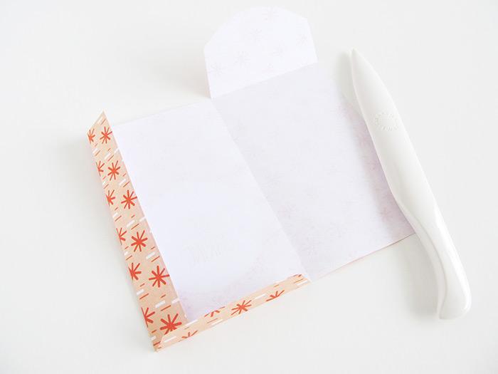 paper bag tutorial folded