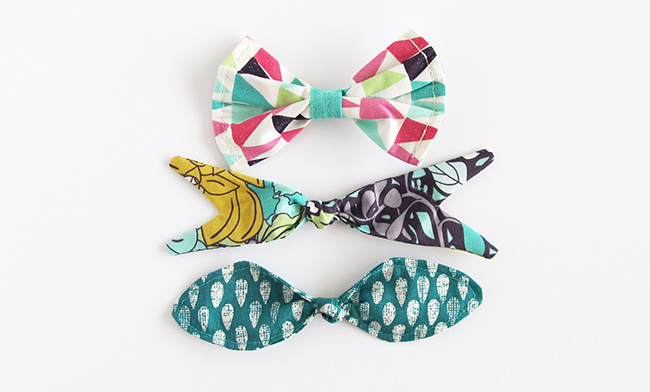 Succulence fabrics blog tour set of 3 hair clips