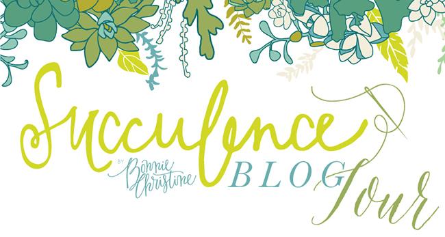Succulence blog tour by bonnie christine