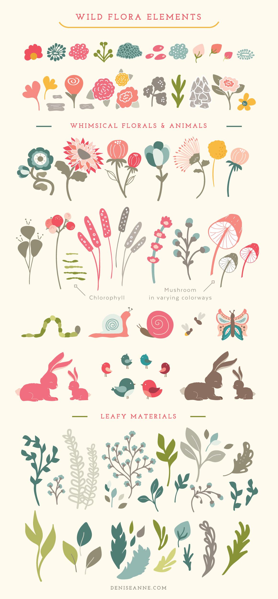 wild_flora-graphics-pack-elements