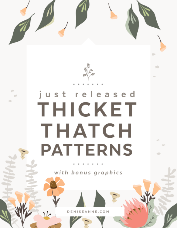 thicket-thatch-patterns-graphics-pack