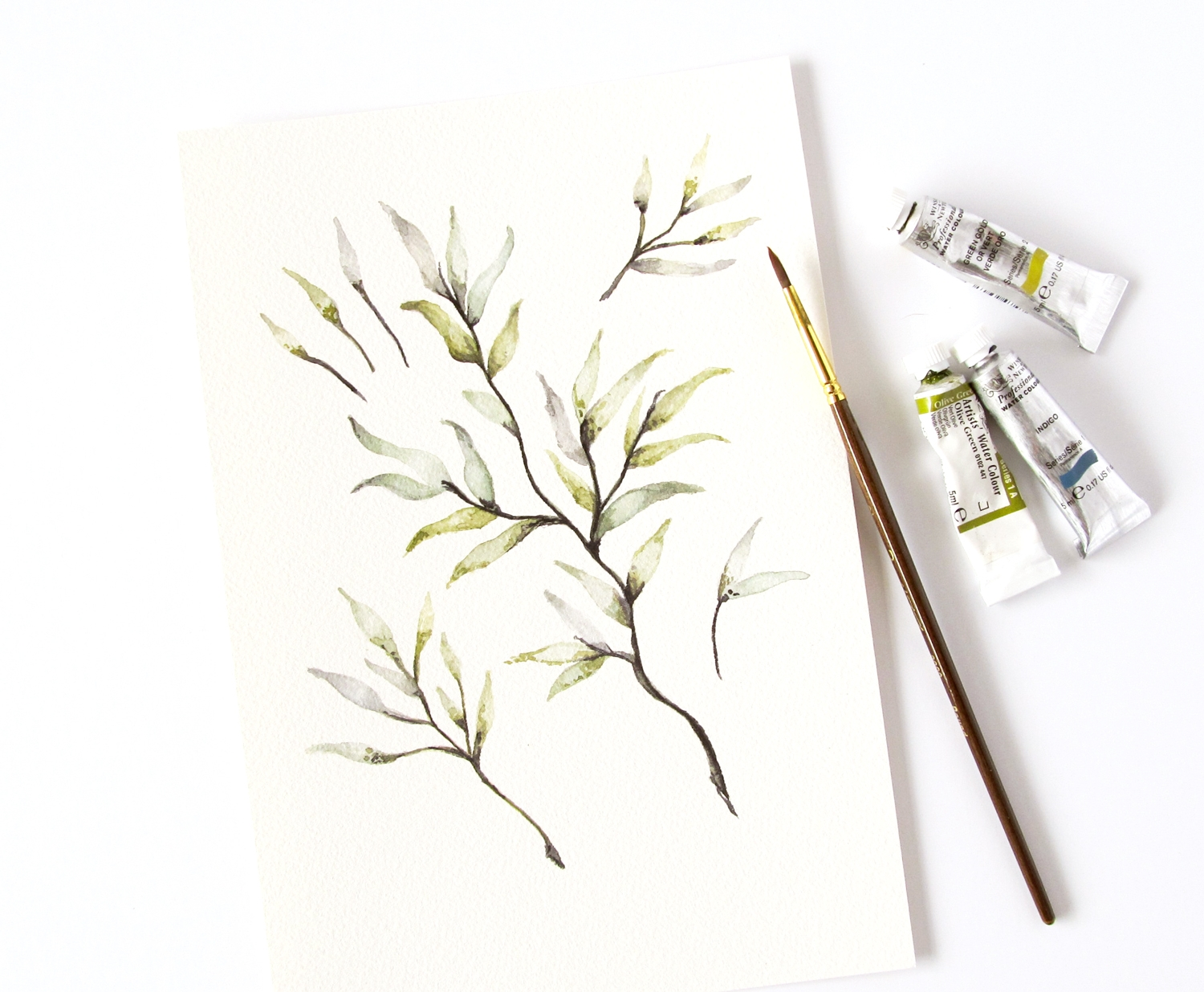 watercolor-branches