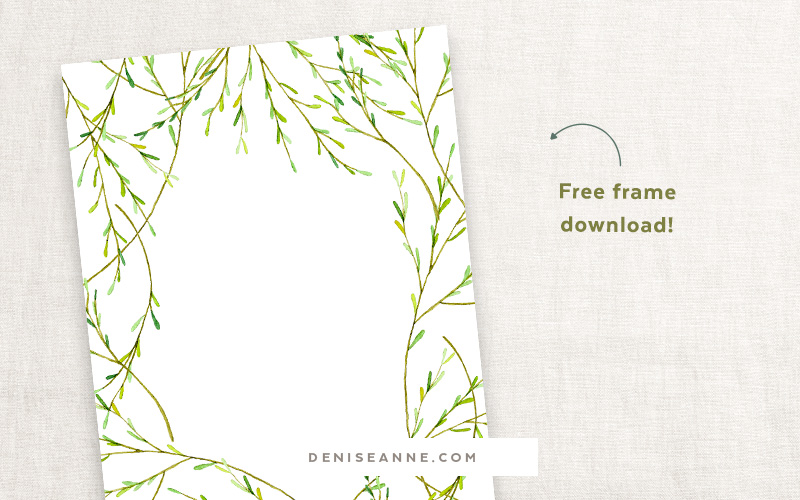 Free inviation frame clip art graphics