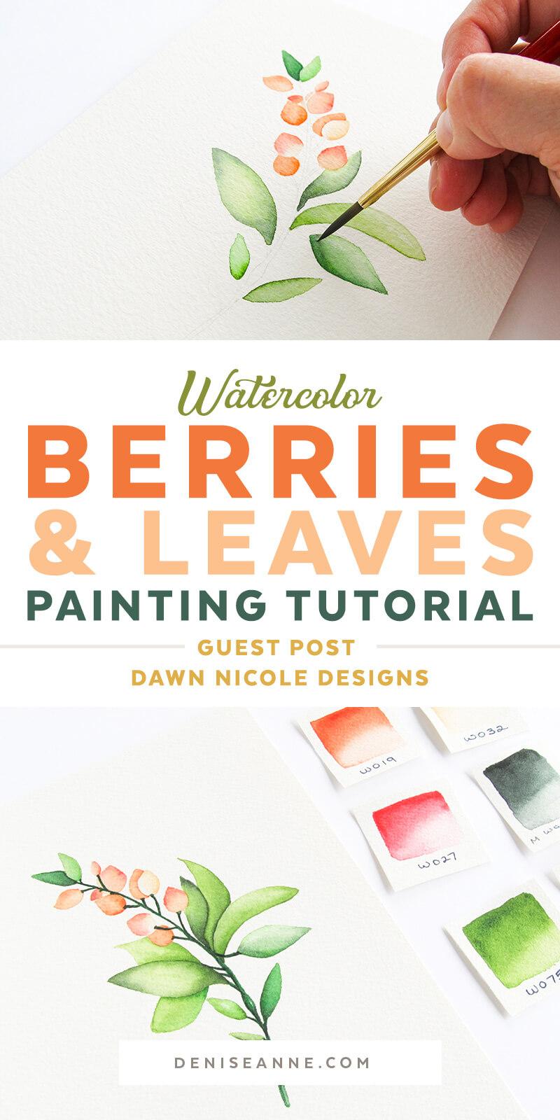 watercolor painting tutorial beginner