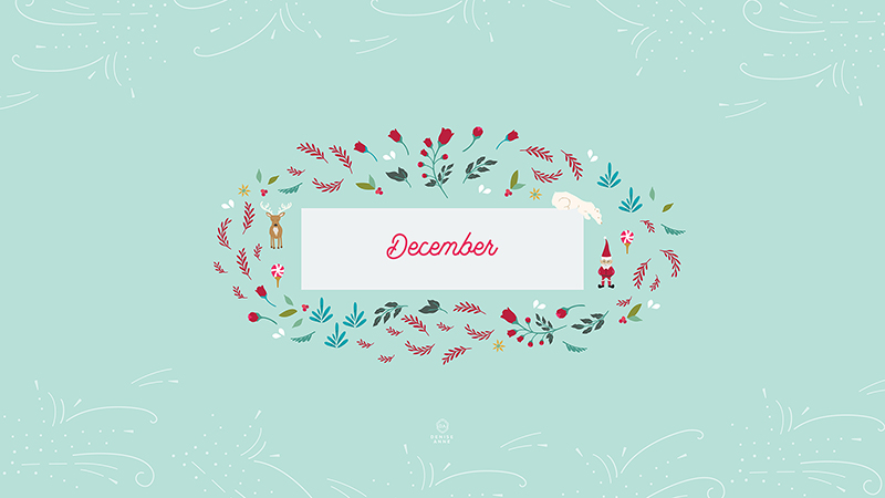 Free Christmas Desktop Wallpapers Santas North Designs