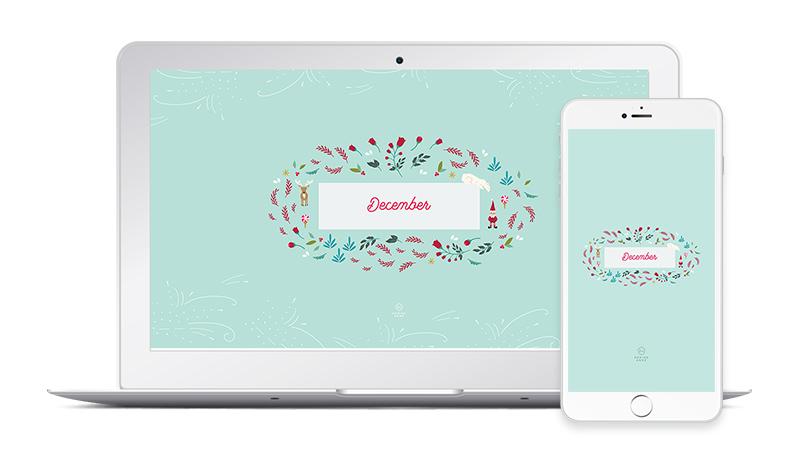 Free December Desktop and Phone Christmas Wallpapers