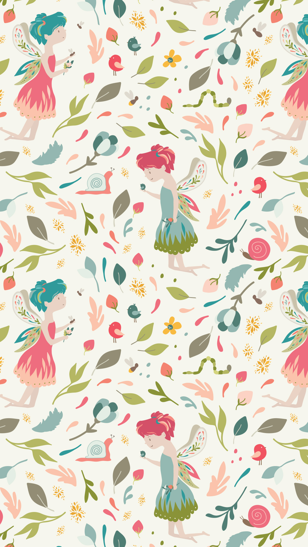 wild flora - A fairy and flora wonderland pattern collection