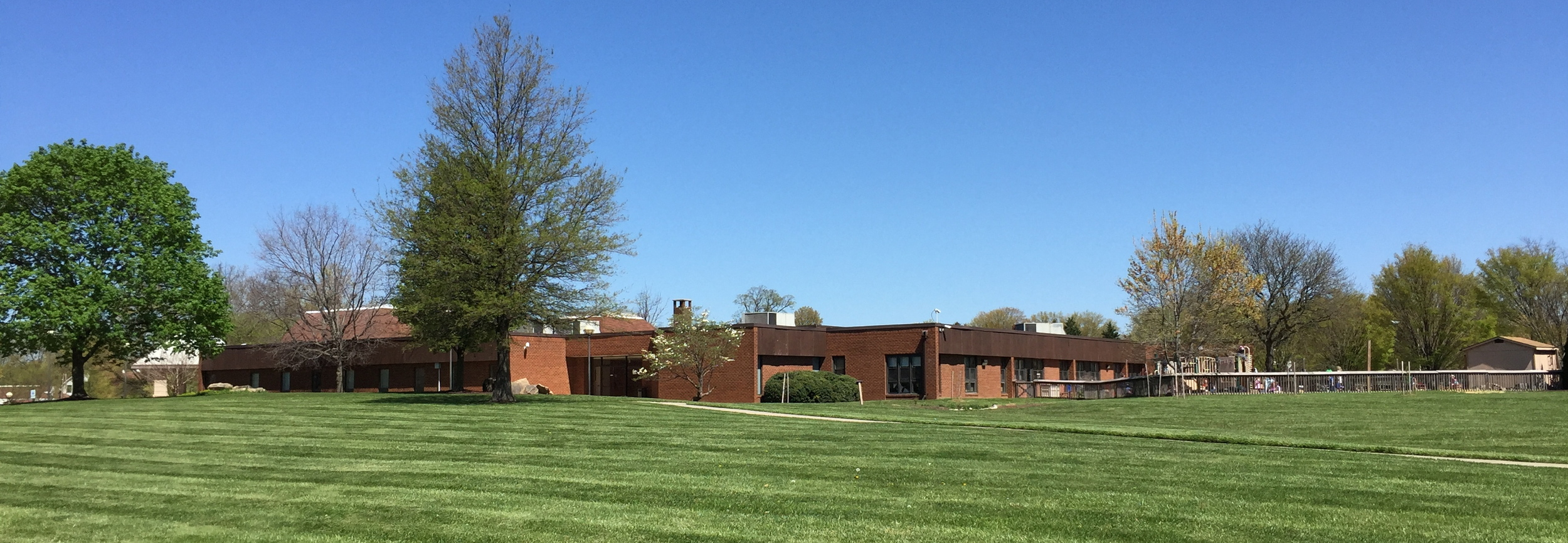 South lawn of the facility