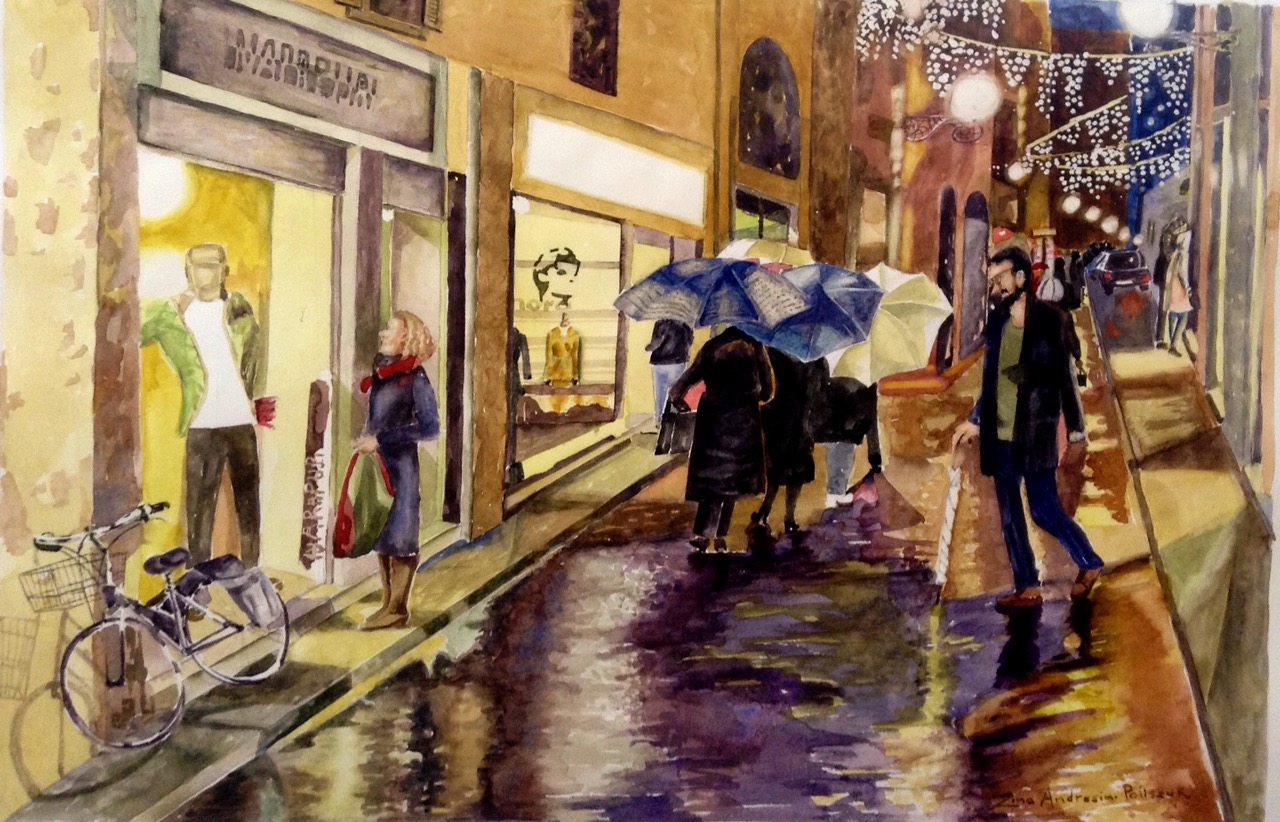 Z. Poliszuk, Shopping in Florence