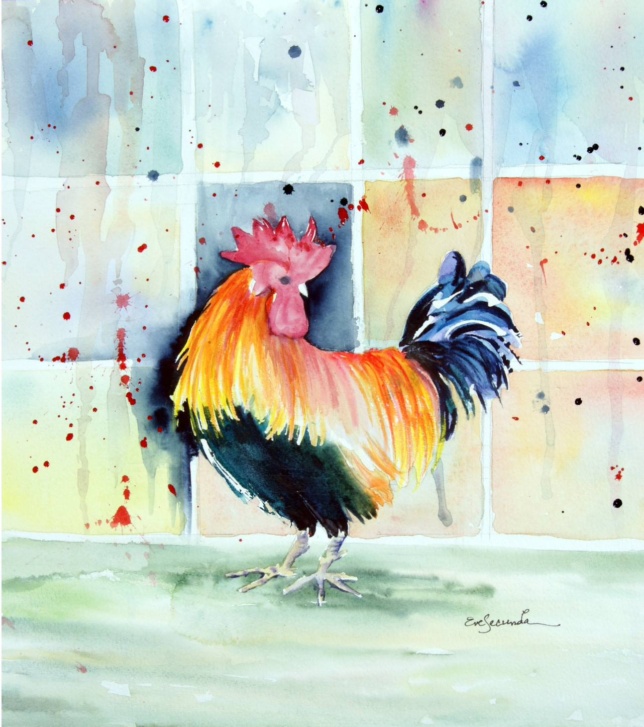E. Secunda, Morning Rooster