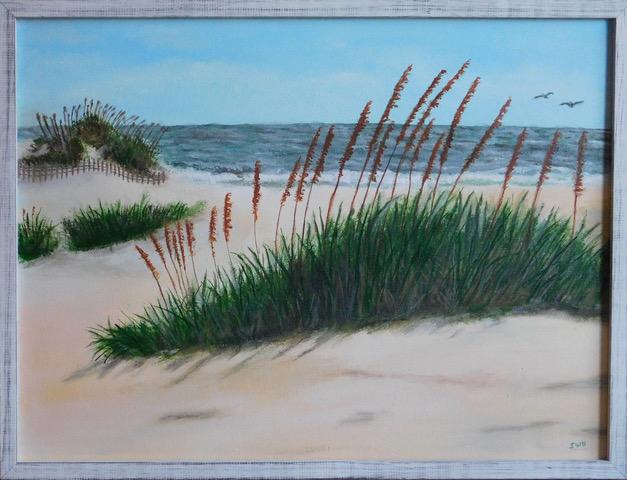 S. Hill,  Beach