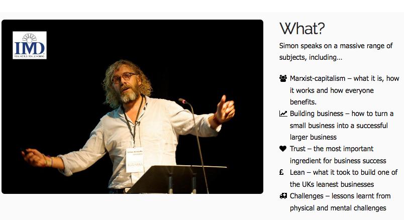 Simon Biltcliffe: Webmart's charismatic CEO