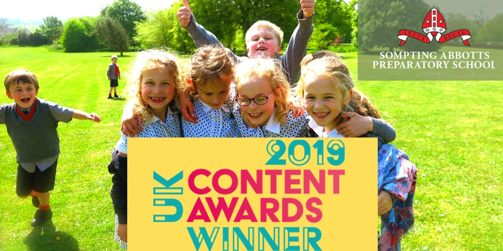 The new website and digital marketing campaign by Connected Copy for Sompting Abbotts led to national recognition for the school as winner of the 2019 UK Content Awards.  Find out more here