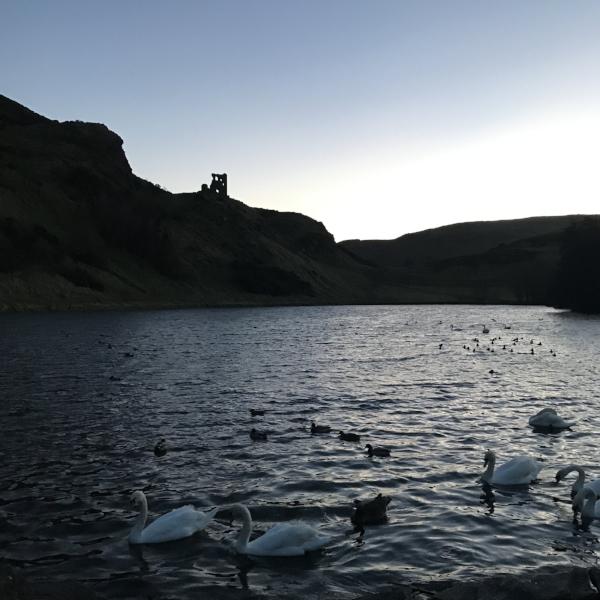 Holyrood Park Lake