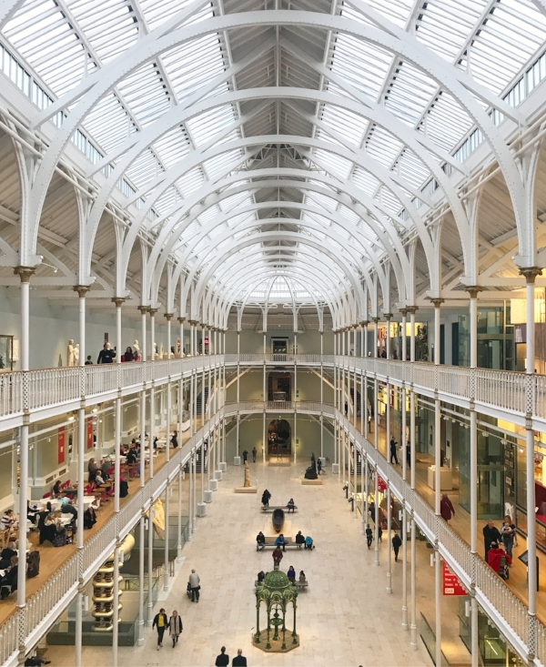 National Museum of Scotland. Stunning.