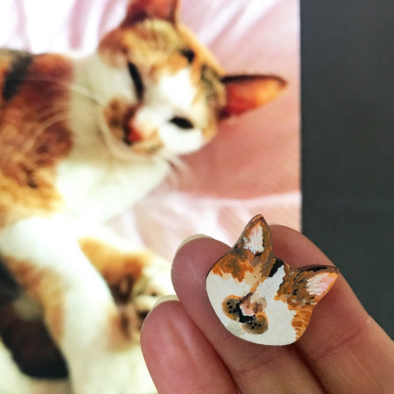 A special pin of Nuggets