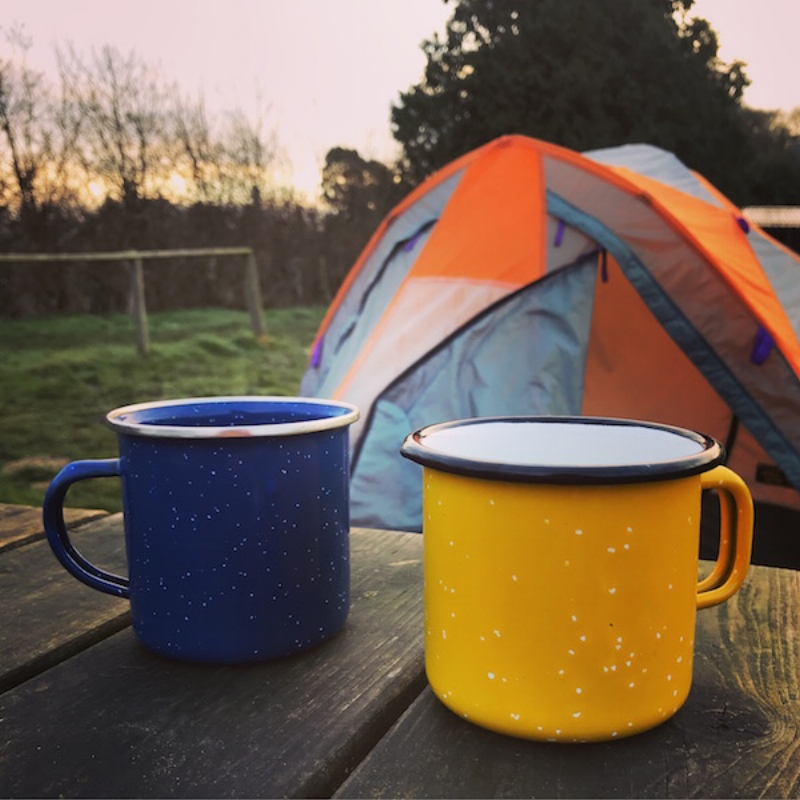 Tea tastes better outdoors!