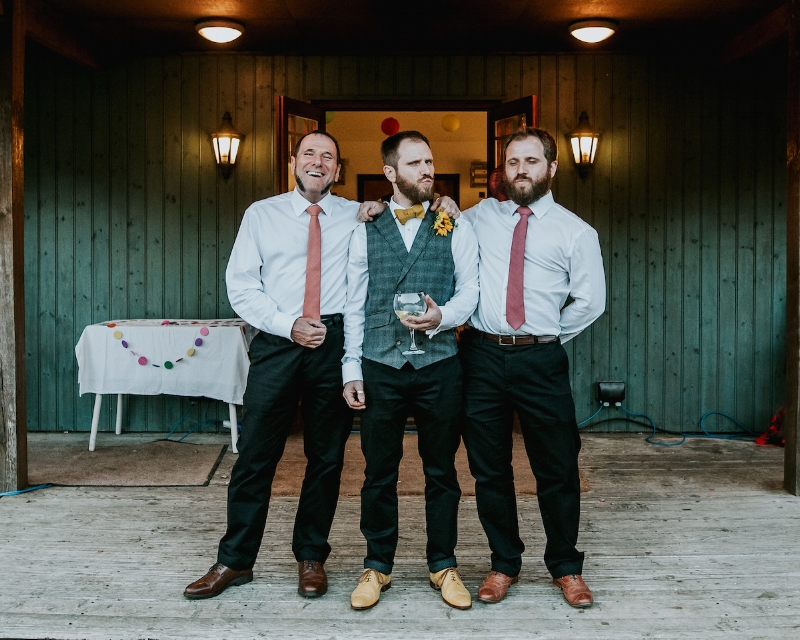 The Dandy A-holes? JK, how handsome to these guys look!?!  📷  Daniel Ackerley Photography