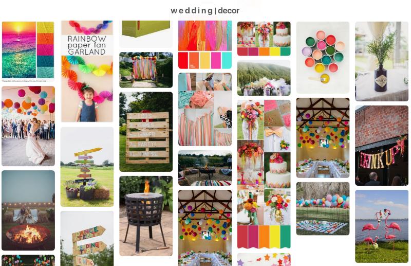 W E D D I N G | DECOR :  Sunshine_Jo Pinterest Boards