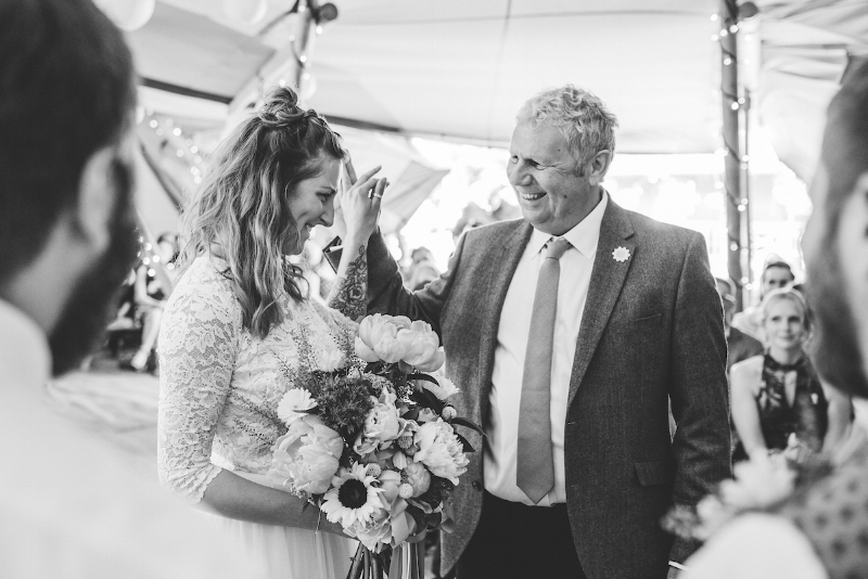 At least it didn't end up as a high five to face, eh Dad?  📷  Daniel Ackerley Photography