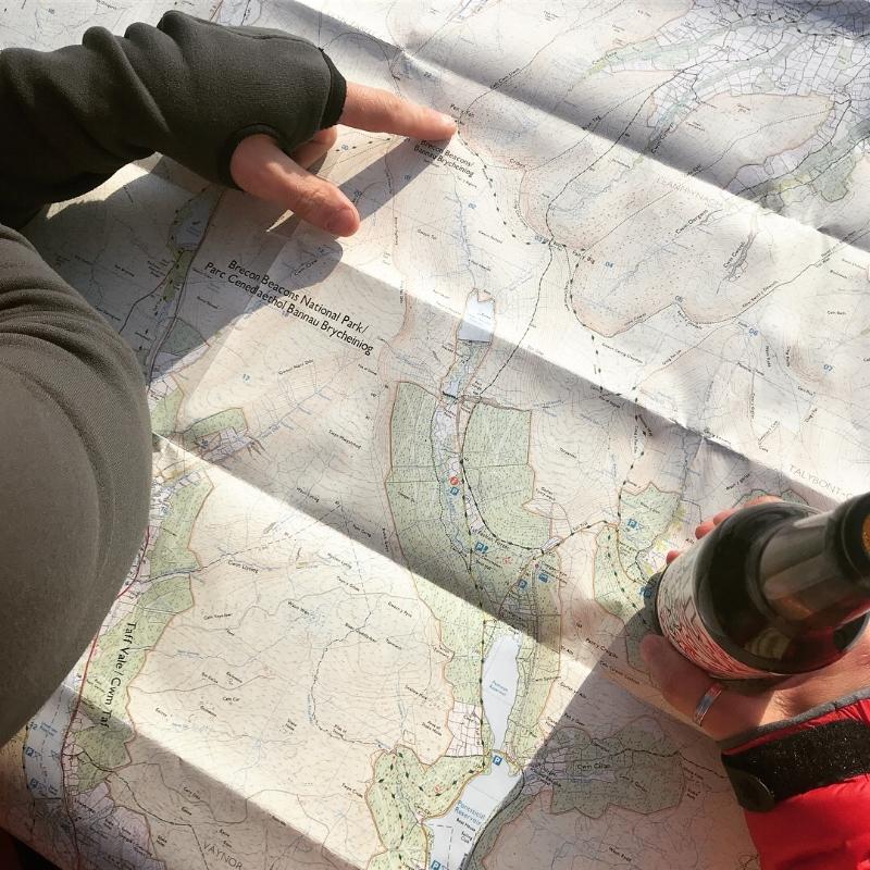 Planning = maps & beer