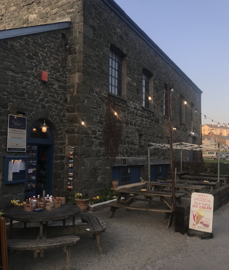 The Shed Bistro , Porthgain 🐟