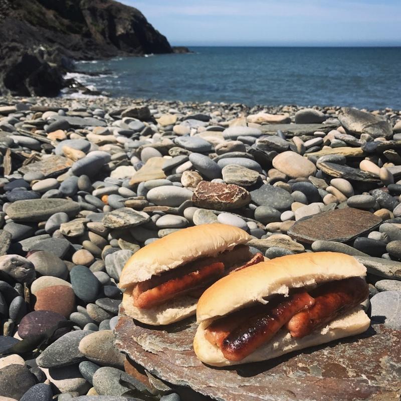 Beach BBQ at Abermawr