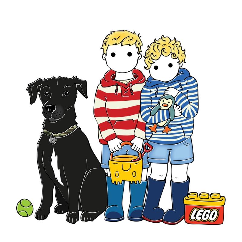 Laurie, Seth & Ziggy Sunshine, 2017.