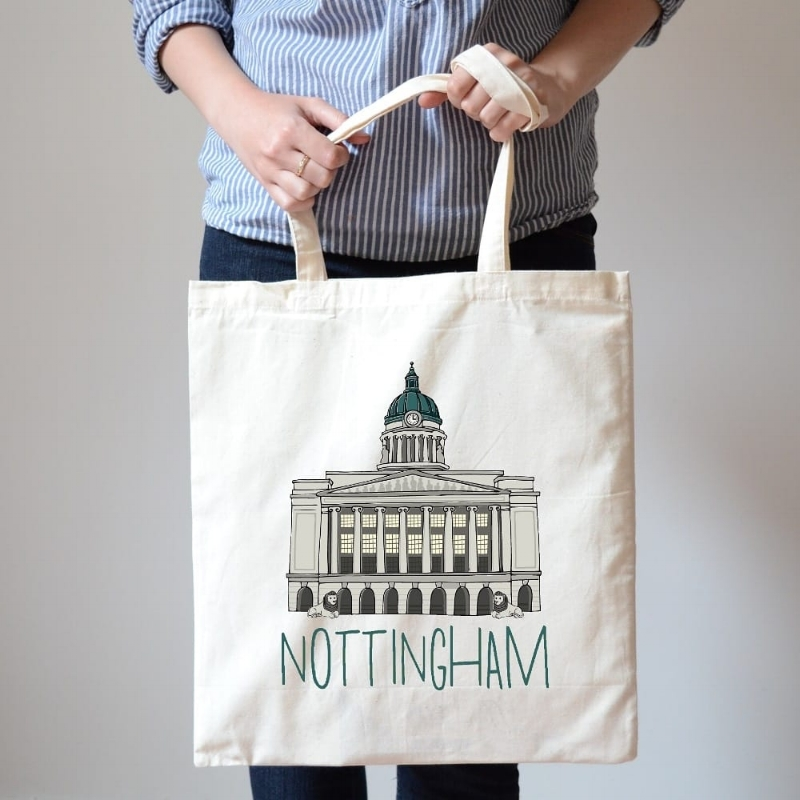 Grab your very own Council House tote bag from  Handmade Nottingham  and we'll see you at the Lions, yeah?