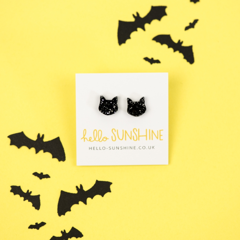 Time to unleash the    Midnight Kitty studs    and more… 📷    Holly Booth Photography