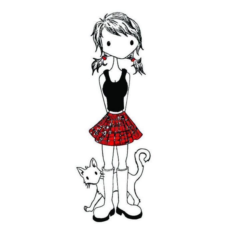 My Duckypoos and her kitty, Lily �