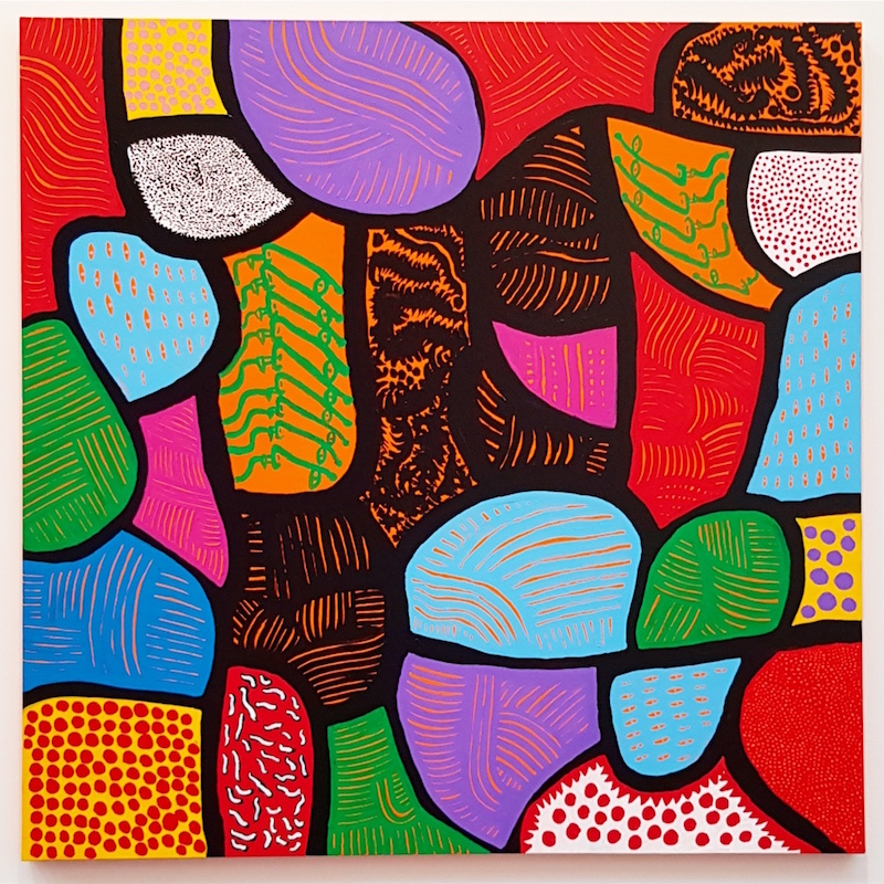 THE MOVING MOMENT WHEN I WENT TO THE UNIVERSE : Yayoi Kusama
