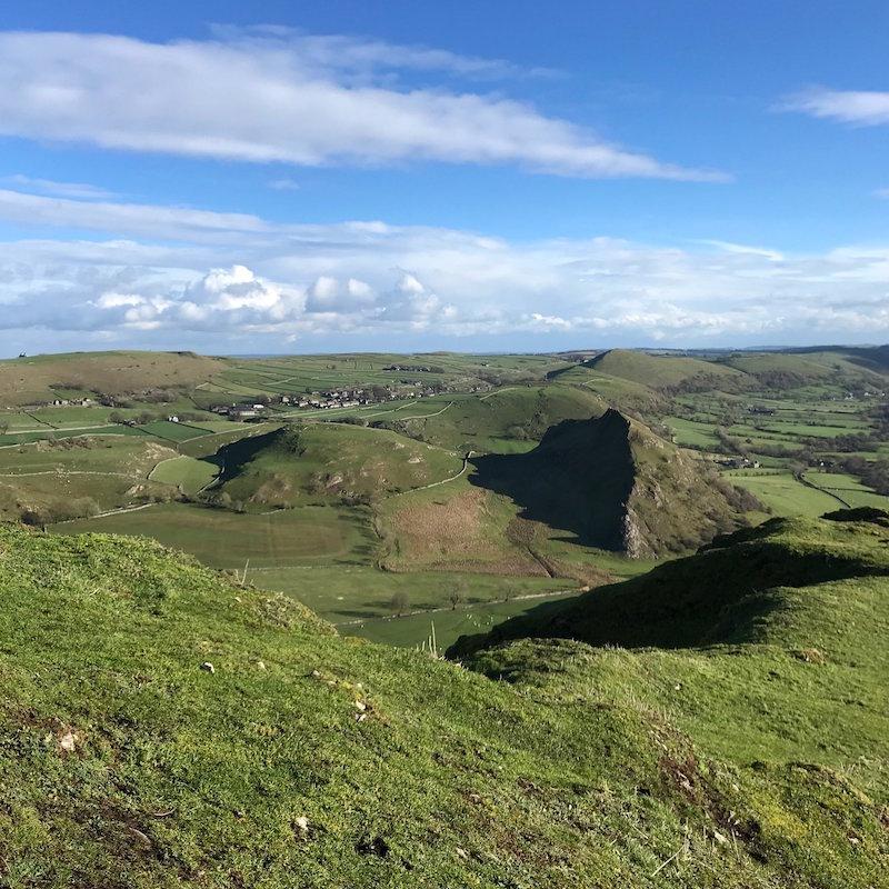Chrome Hill views.